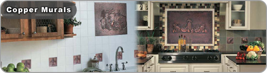 Copper Tiles and Murals