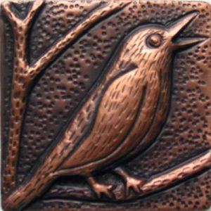 Copper Tile - Song Bird