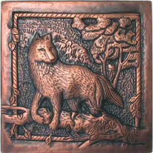 Copper Tile - Wolf
