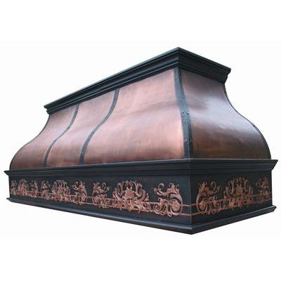 Chimney Series Copper Range Hood
