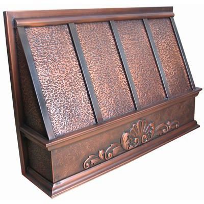 Slim Series Copper Range Hood