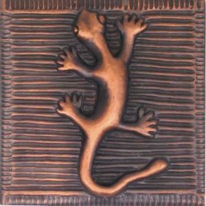 Copper Tile - Lizard #1