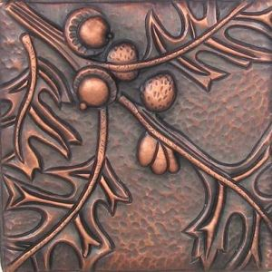 Copper Tile - Oak