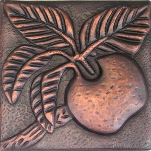 Copper Tile - Apple