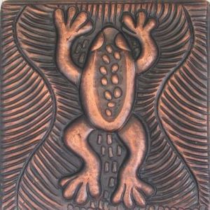 Copper Tile - Frog #1