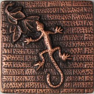 Copper Tile - Lizard #2