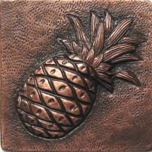 Copper Tile - Pineapple