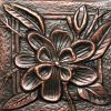 Copper Tile - Flower #1