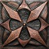 Copper Tile - Geometric #1